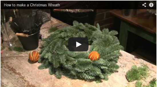 Video Tutorials for Three Easy-to-Make DIY Door Wreaths