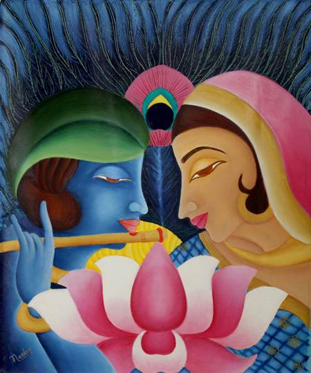 Oil on