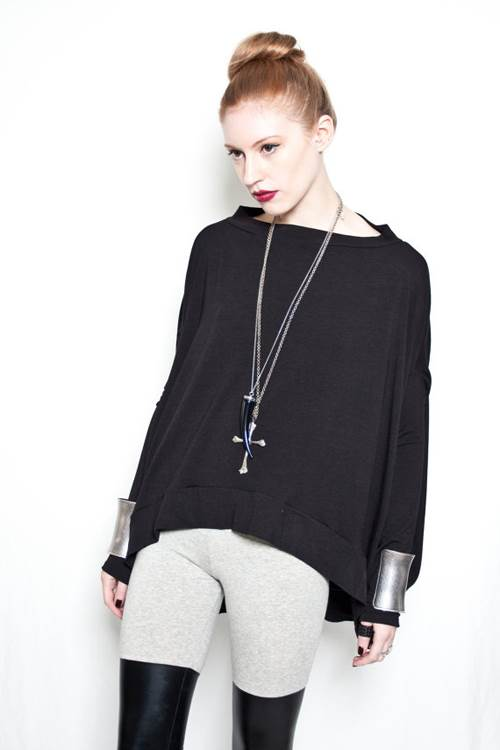 Discoid Shaped Top by Babooshka