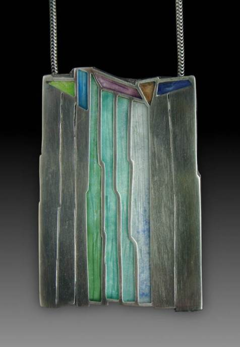 Waterfall Pendant No. 416 by Carly Wright