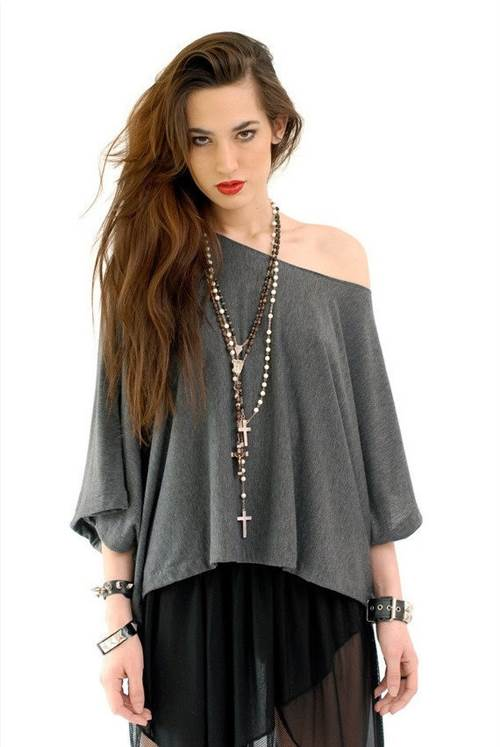 Grey Jersey Tee by