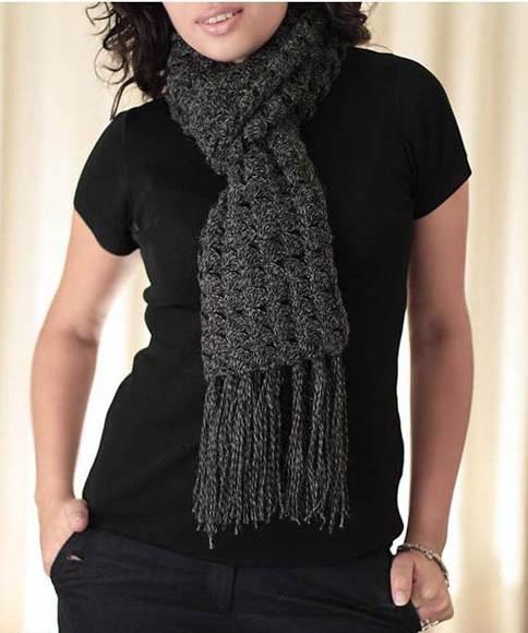 Starburst Artisan Crochet Shawl