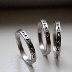 Stacking Mommy Rings by tinahdee