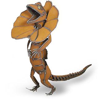 Frilled-Neck Lizard Sculpture