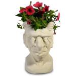 Gargoyle Concrete Head Planter