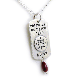 There's No Place Like Home Pendant