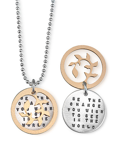 'Be The Change' Necklace
