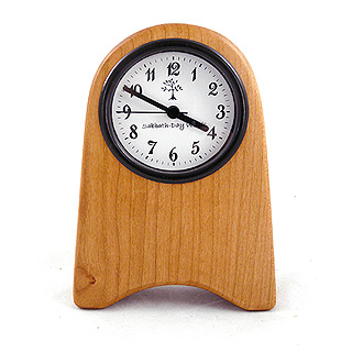 Shaker Inspired Wood Desk Clock