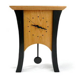 Black Cherry Pendulum Clock