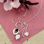 Sterling Silver Calla Lily Necklace