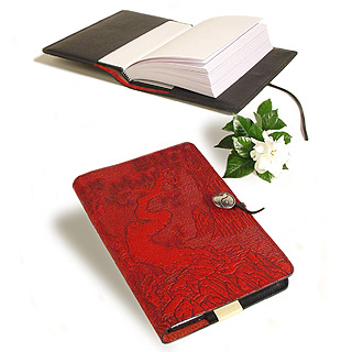 Twisted Tree Embossed Leather Journal