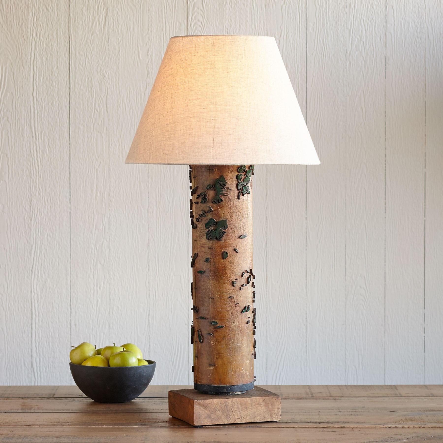 One-of-a-kind Buckingham Vintage Roller Lamp