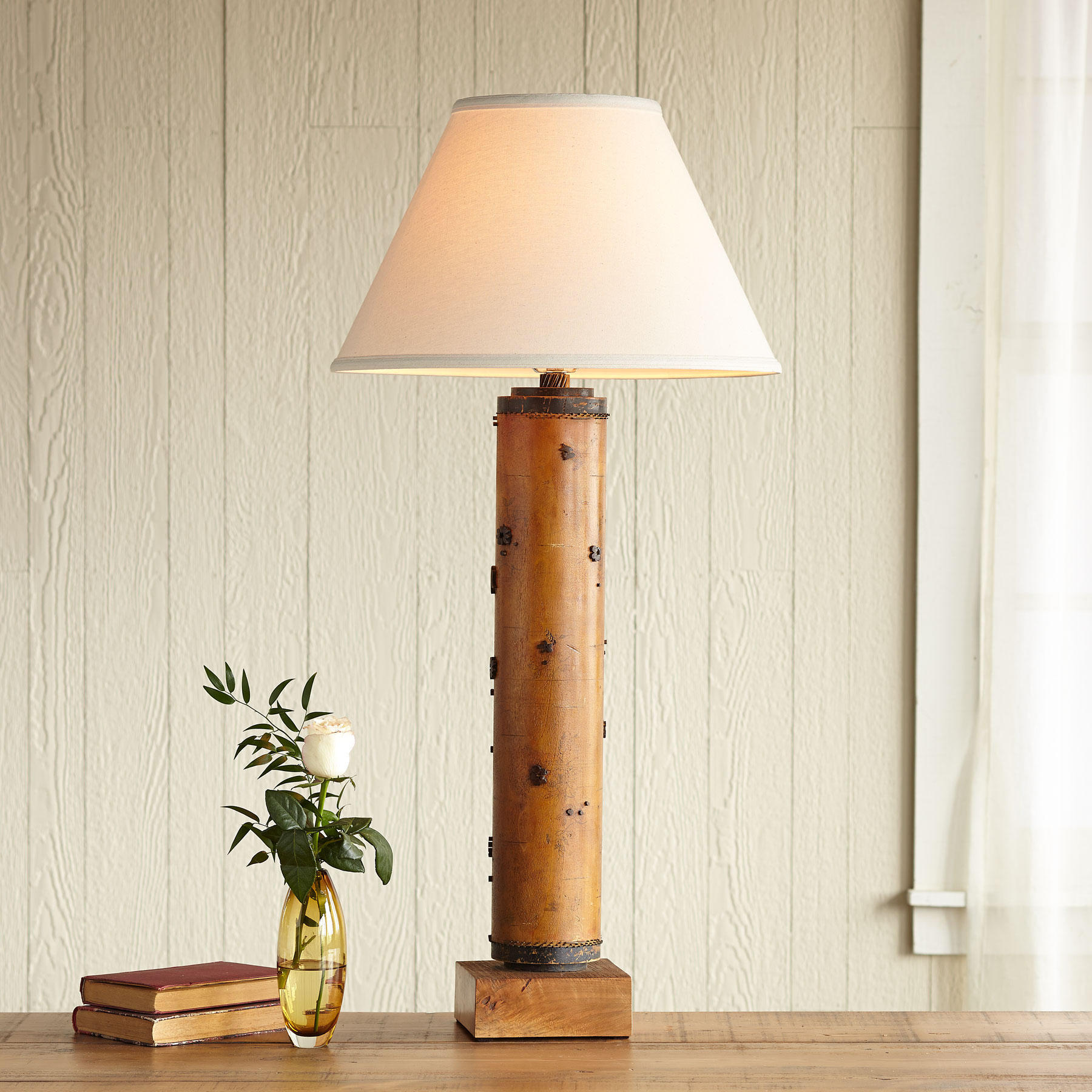 One-of-a-kind Howard Vintage Roller Lamp
