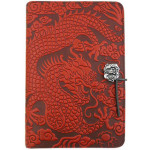 Cloud Dragon Refillable Embossed Leather Journal