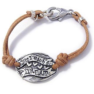 Girl With a Dream Bracelet