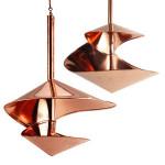 Copper Swirls Birdfeeder & Bath Set