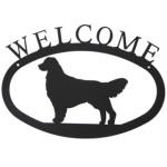 Iron Welcome Sign - Retriever