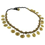 Brass Spiral Necklace