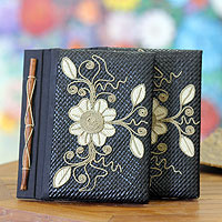 Pandanus journals, 'Floral Pride' (set of 2)