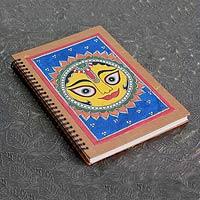Madhubani painting journal, 'Surya the Sun'