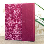 Saa paper journal, 'Pink Floral'