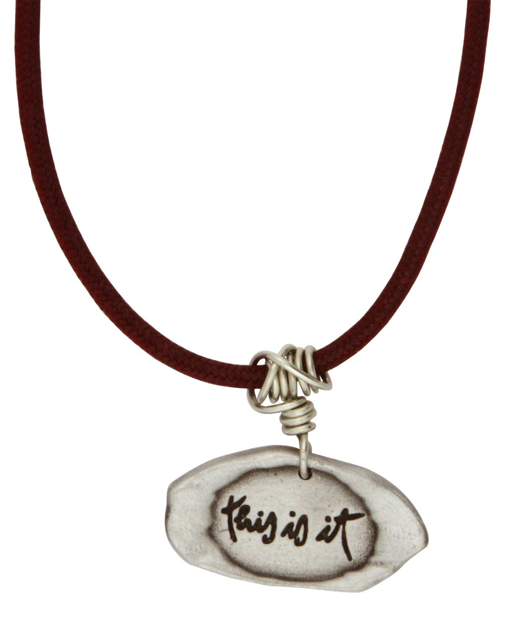 Thich Nhat Hanh This Is It Pendant Necklace
