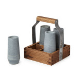 Soapstone Shooter Set with Tote