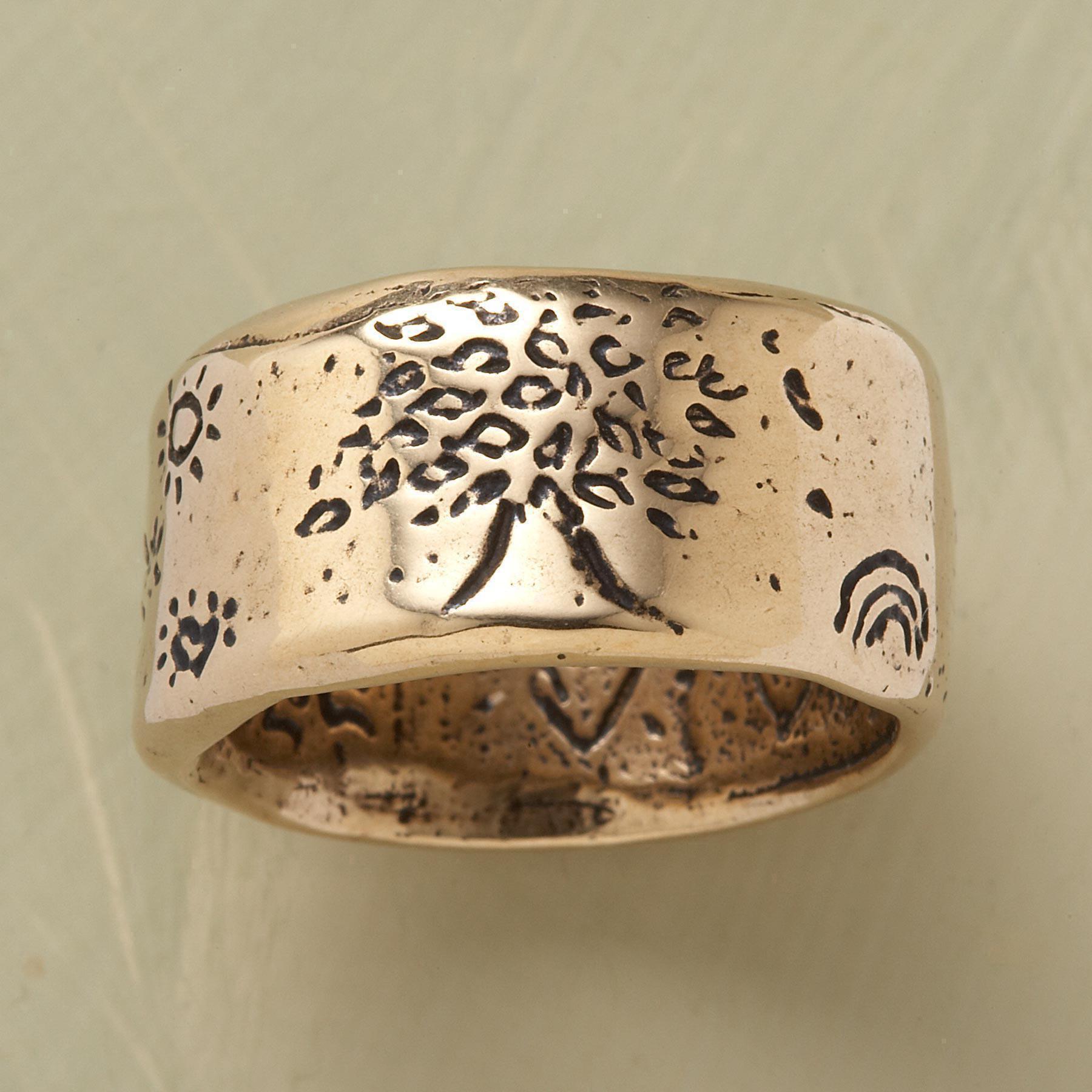 Golden Strength Ring