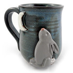 Moon Rabbit Stoneware Mug