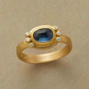 Starshine Sapphire Ring