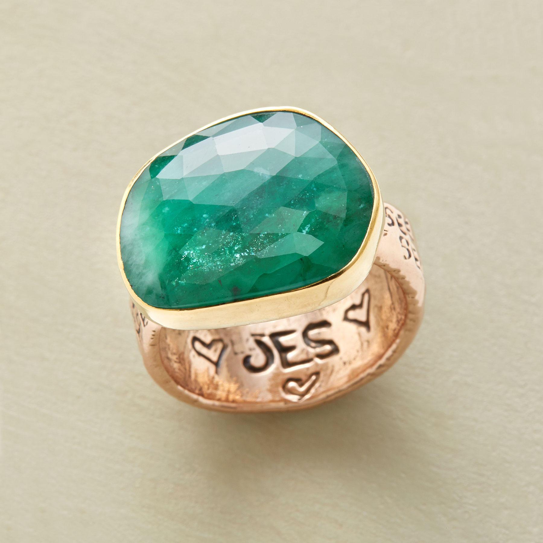 Emerald Dreams Ring