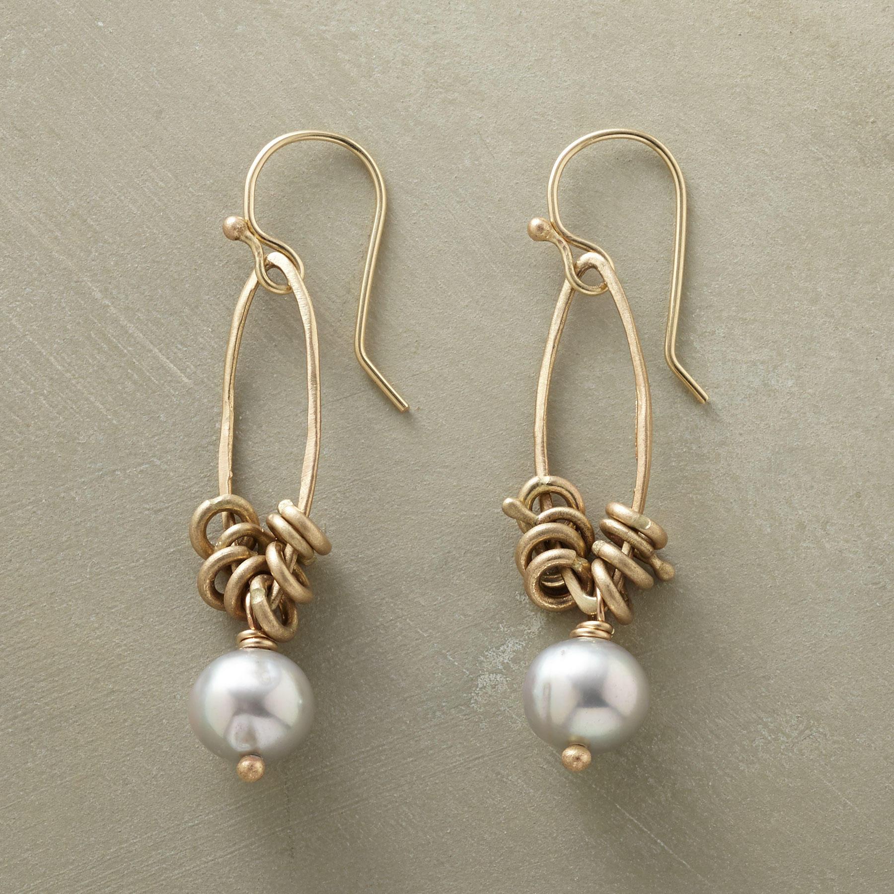 Kinetic Pearl Earrings