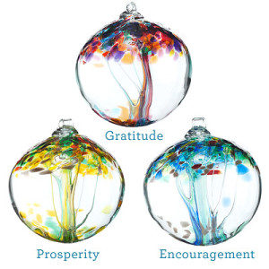 Recycled Glass Tree Globes - Inspirations