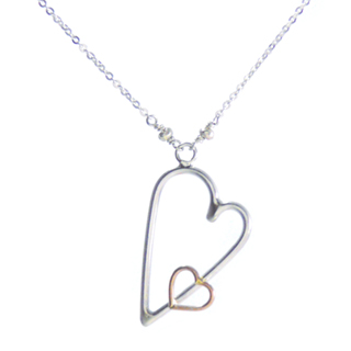 Hearts Embraced Necklace