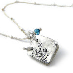 She Lived Happily Every After Storybook Necklace