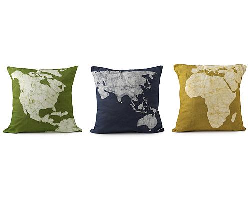 Continent Pillows - Set of 3