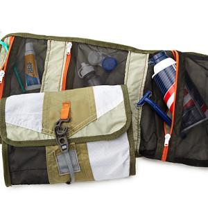 Upcycled Tent Dopp Kit