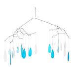 Glass Raindrop Mobile