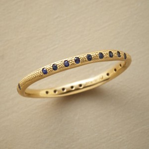 Sapphire Clusters Ring