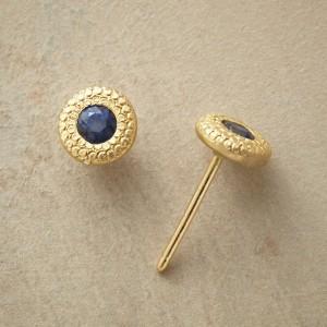 Sandy Shores Sapphire Earrings