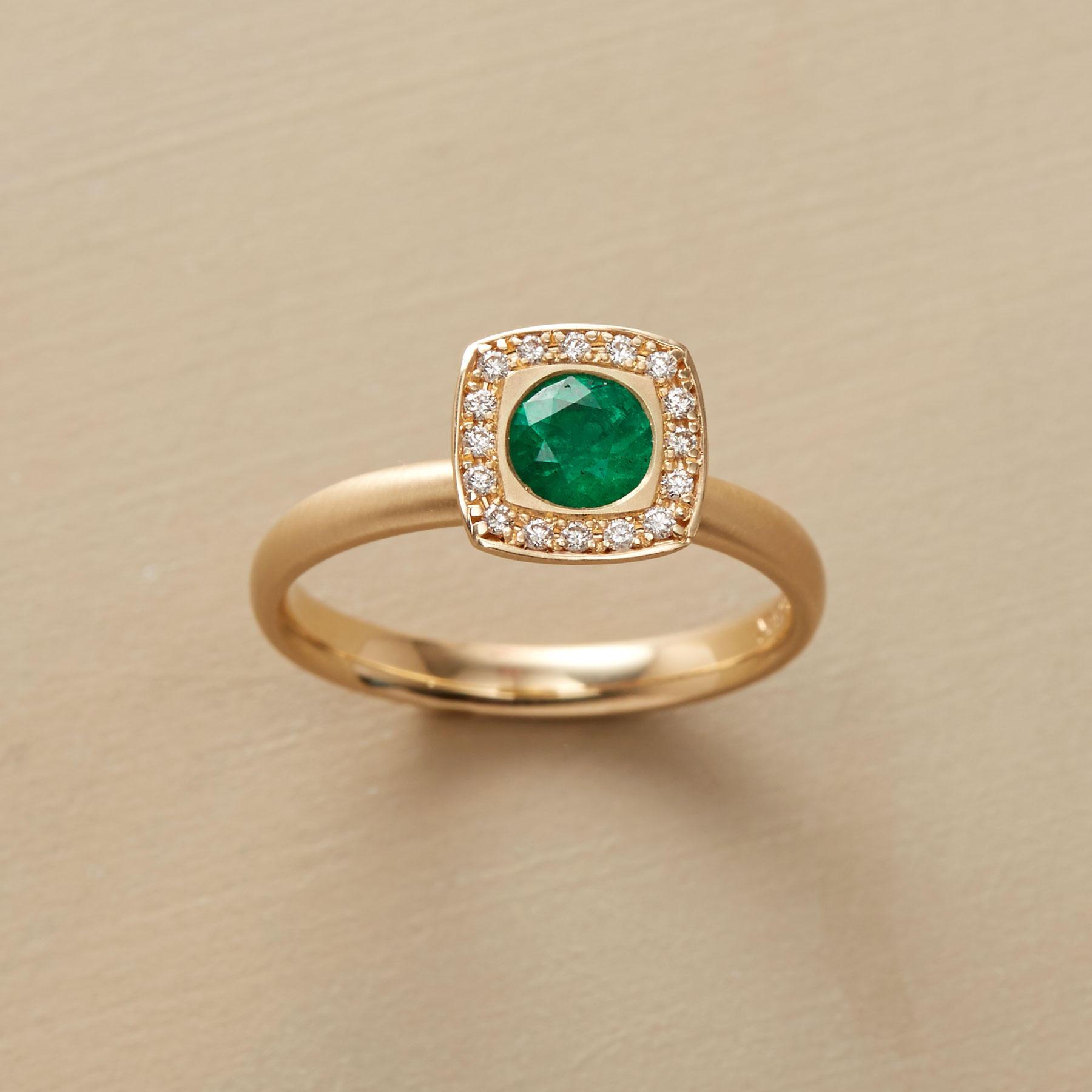 Emerald Envy Ring