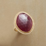 Garland Ruby Ring