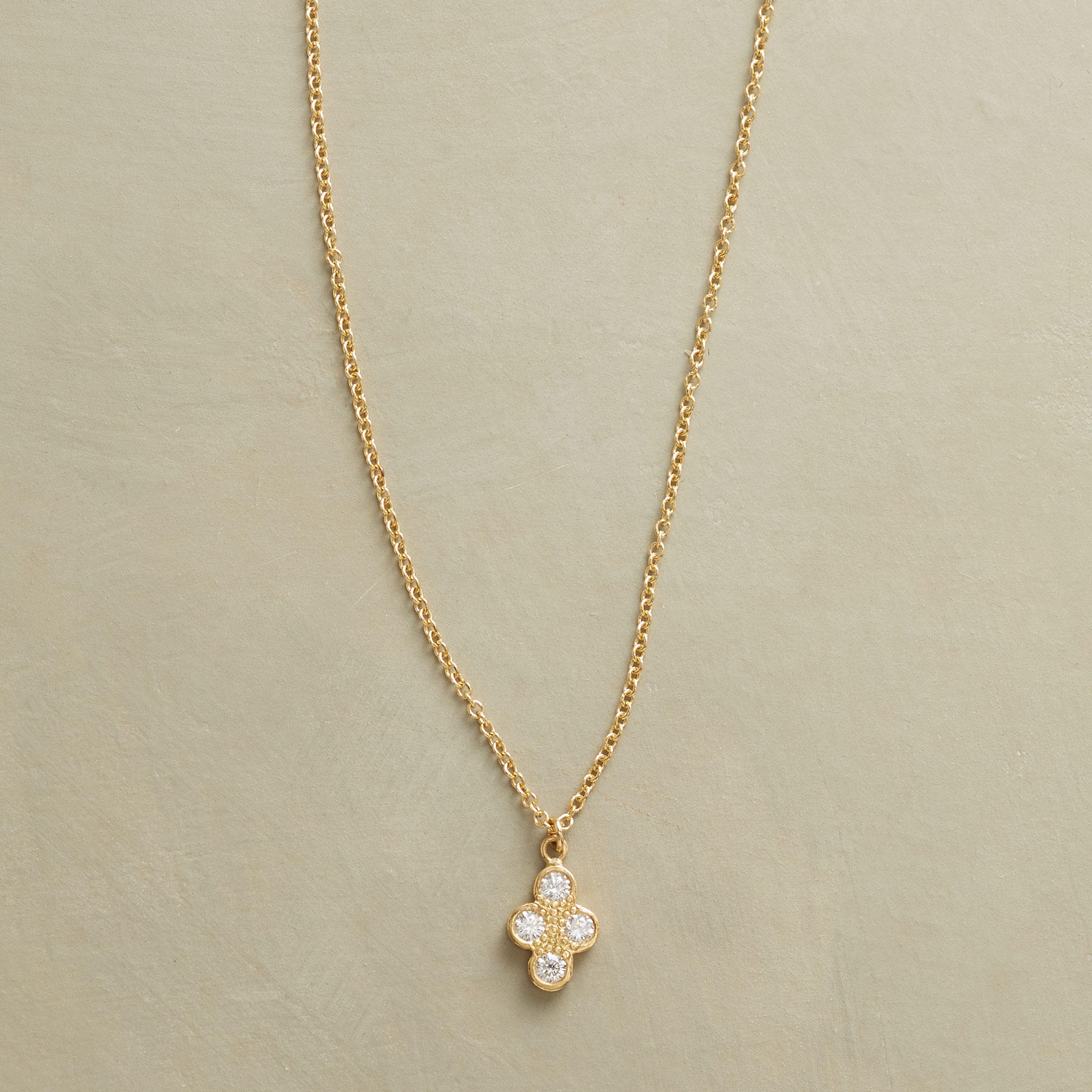 Diamond Quartet Necklace
