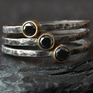 Handmade Stacking Rings