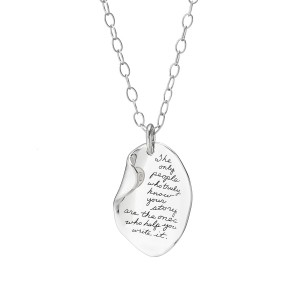 Inspirational Pendant Necklace by BB Becker