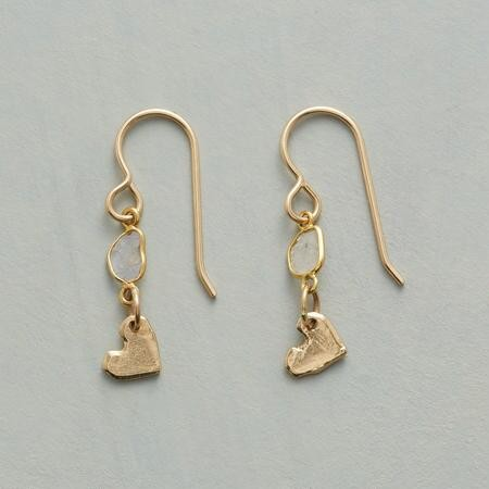 Heart Earrings by Jes Maharry