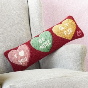 Candy Hearts Bolster