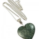 Heart Shaped Jade Necklace