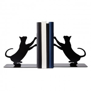 Cat Bookends by Eric Gross