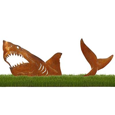 Shark Sculpture by Chris Crooks
